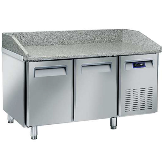 Banco pizza 1500 mm a 2 porte 600x400 mm