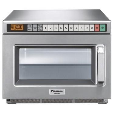 Forno a microonde, panasonic capacità 18 litri/gn 1/1, massimo 2100 watt.
