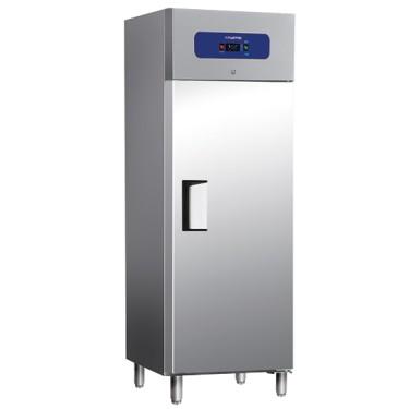 Armadio frigorifero per la conservazione del pesce 400 litri interno/esterno in inox temp. -5°c/0°c