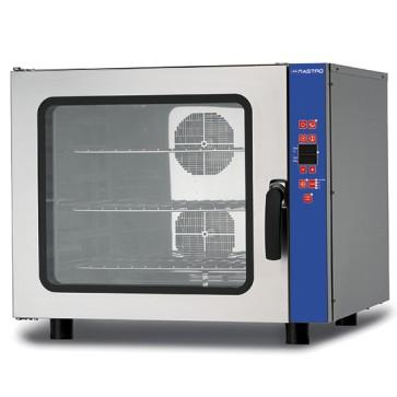 Forno combinato elettrico programmabile con umidifcatore, 6x GN 1/1 o 600x400 mm, 400V