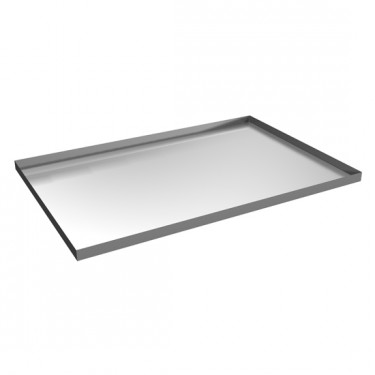 Teglia inox 600x400x12 mm. per forno cod. 5699TD