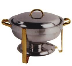 Chafing dish cap. 7,5 lt. - ø 300x340mm.