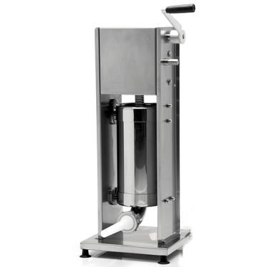 Insaccatrice manuale verticale, cilindro larghezza=480 mm, 14 litri