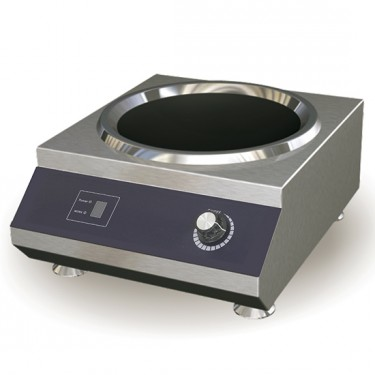 Piano cottura induzione wok professionale da banco - 5 kw