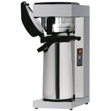 Macchina caffè a filtro con bricco termostatico con termos da 2,2lt, attacco idrico diretto