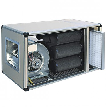 unità di filtrazione e deodorizzazione con motore diretto, 2500 m³/h