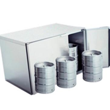 Refrigeratore fusti birragruppo remoto,capacità fusti 6x 50 litri