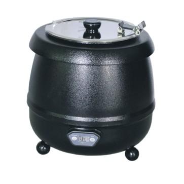 Zuppiera elettrica, cap. 10lt. con pannello lcd - colore nero