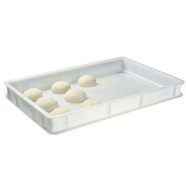Cassetta in plastica per palline pizza, 600x400x70