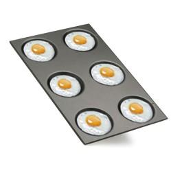 Teglie per uova e crepes