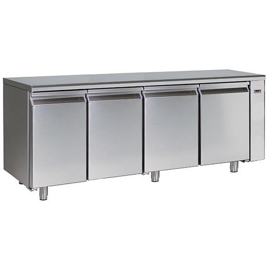 Tavoli refrigerati bassa temperatura -10C - 20C profondità 700 mm e sistema HACCP alarm