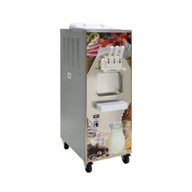 Macchina soft ice con condensazione ad aria/acqua, capacità 2x 12 litri