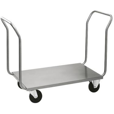 Carrello porta valigie e carichi pesanti con 2 manici cap. massima 200 kg