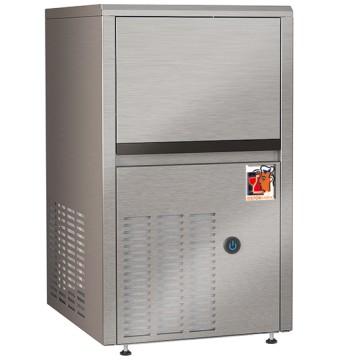 Produttore di ghiaccio a cubetti, raffreddamento ad aria, 22 kg/24 h