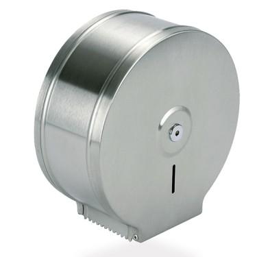 distributore di carta igienica in acciaio inox