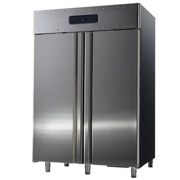 Armadio frigorifero ventilato per pesce con hccp  sistema di allarme 1400 lt temperatura-2/+5°c
