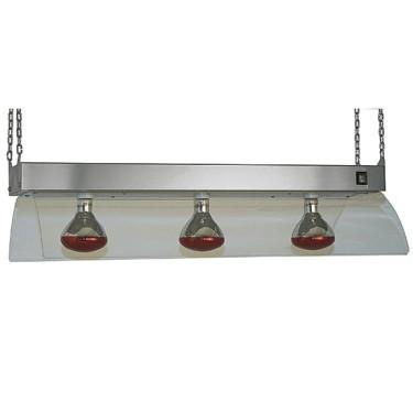 lampade a infrarossi su telaio a sospensione, 3x GN 1/1