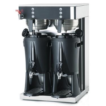 Macchina di caffè a filtro con Contenitore Termico, capacità 21+21 lt/ora