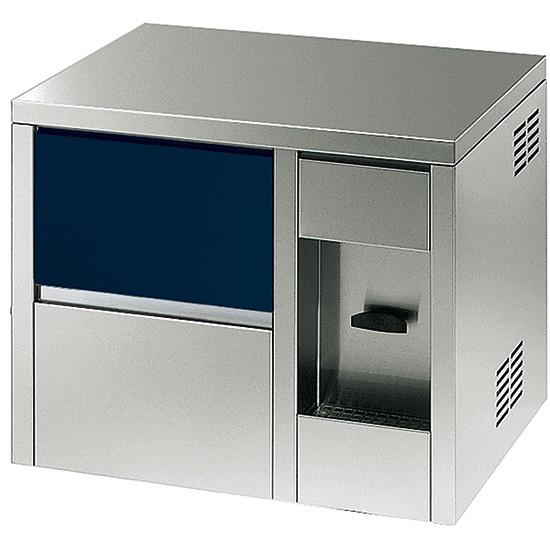 Produttori automatici di ghiaccio in cubetti con distributore di acqua raffreddata