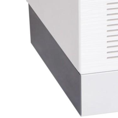 Zoccolatura laterale per banchi di preparazione refrigerati/riscaldati