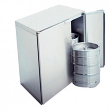Refrigeratore fusti birragruppo remoto,capacità fusti 2x 50 litri