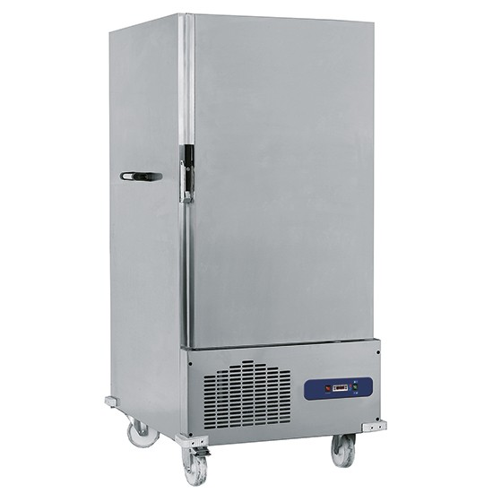 Carrelli termici refrigerati portacontenitori GN