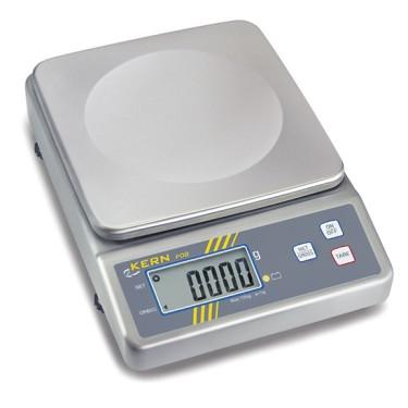 Bilancia in acciao inox max 6kg/div 2gr