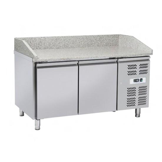 Tavoli per pizzeria refrigerati profondità 800 mm
