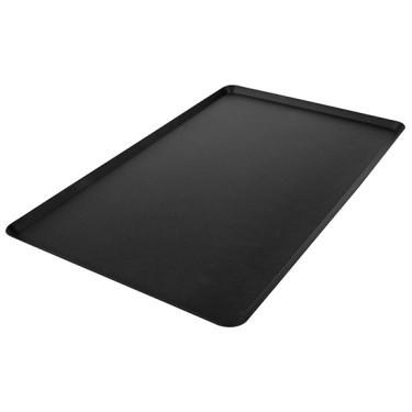 Teglia in alluminio non rivestita, GN 1/1 - 4 bordi 45° imbutito, rivestimento termoplastico