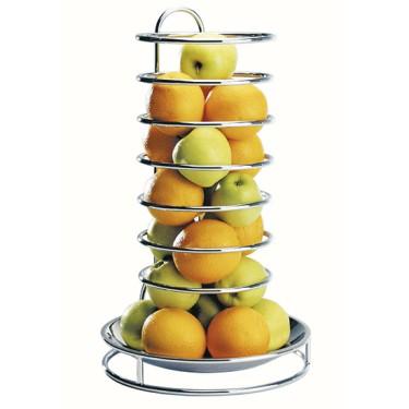 Ciotola porta frutta in inox h=530mm