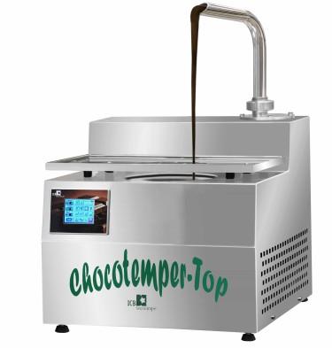 CHOCOTEMPER TOP - temperatrice da banco, con capacità di 5,5 kg