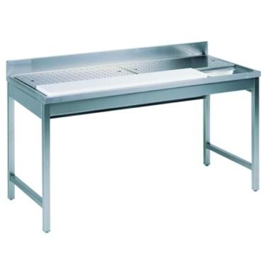 tavolo di preparazione per pesce, l=2000 mm
