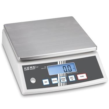 Bilancia da banco in acciaio inox, portata massima 30 kg, divisione 1 g