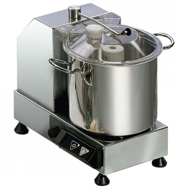 Cutter, 2 velocità, capacità 3,3lt modello per gastronomia,maccelleria.