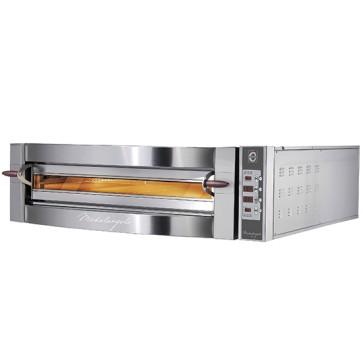 Forno pizza elettrico da 6 pizze ø 35 cm, controllo elettronico