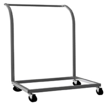 Carrello per trasporto cesti da lavastoviglie, 500x500 mm