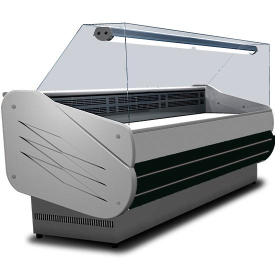 Vetrine refrigerate ventilate vetro retto
