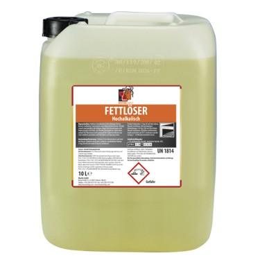 Sgrassatore altamente alcalino liquido, 10 litri