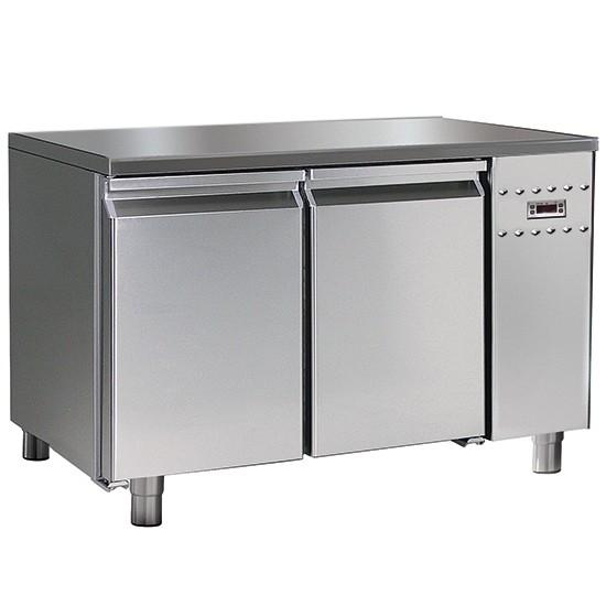 Tavoli refrigerati con gruppo remoto profondità 700 mm e sistema HACCP alarm