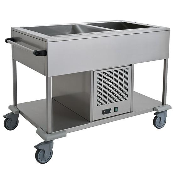 Carrelli refrigerati / pesce