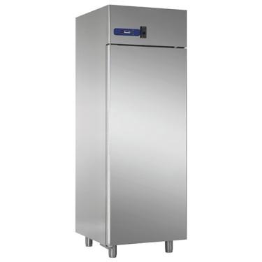 Armadio frigorifero statico 700 litri, variatore di velocità ventole per conservazione carni, 0/+10°
