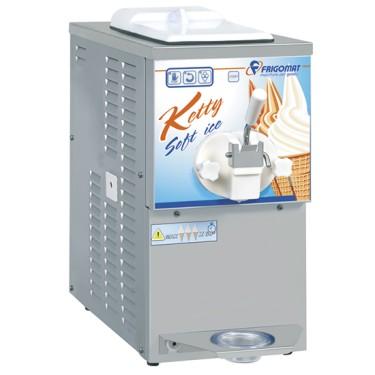 Macchina soft ice con condensazione ad aria, capacità 4 litri