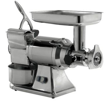 tritacarne e grattugia, bocca ø 70 mm, 200 kg/h | 50 kg/h