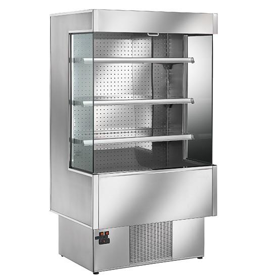 Murali refrigerati Silver - Inox - Salumi e latticini
