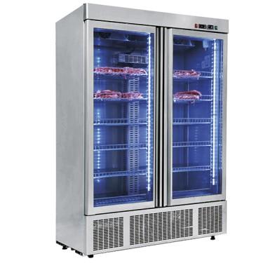 Armadio frigorifero statico, controllo umidità 1300 litri,per frollatura e conservazione carni