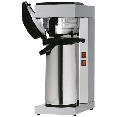 Macchina caffè a filtro con bricco termostatico con termos da 2,2lt, manuale, cap. 15lt ora
