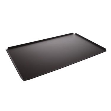 Teglia in alluminio non rivestita, GN 2/3 - 4 bordi 45°, rivestimento termoplastico