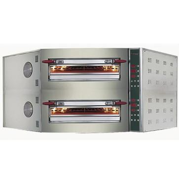 Forno pizza elettrico ad angolo programmabile digitale per 11+11 pizze cm 30