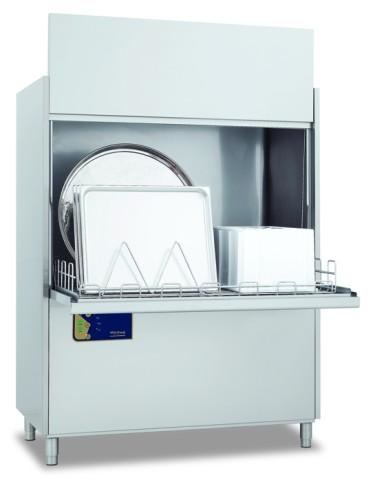 Lavapentole, con 3 cicli di lavaggio 120/240/360, cesto 700x1220 mm.altezza interna utile 850 mm