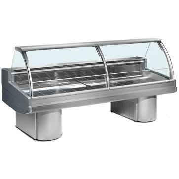Vetrina refrigerata statica per carne, larghezza=2500